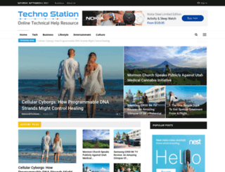 technostation.com screenshot
