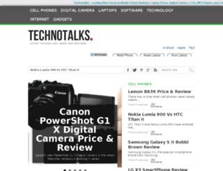 technotalks.com screenshot