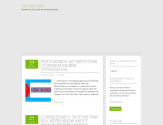 technotrix.in screenshot