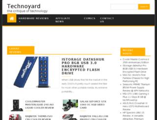 technoyard.com screenshot