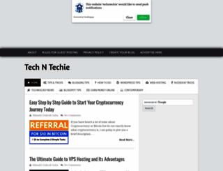 techntechie.com screenshot