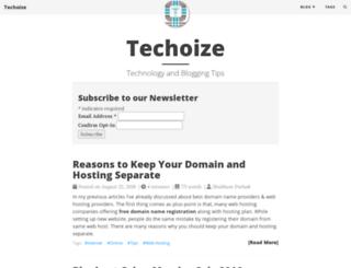 techoize.com screenshot