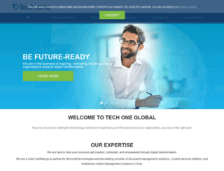 techoneglobal.com screenshot
