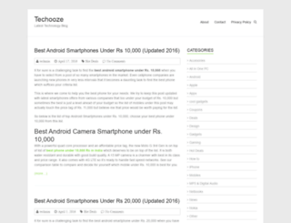 techooze.com screenshot
