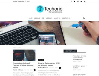 techoric.com screenshot