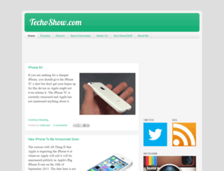 techoshow.blogspot.com screenshot