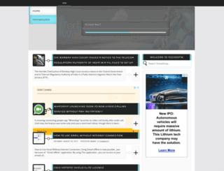 techospin.blogspot.com screenshot