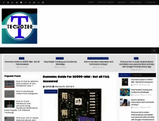 techozee.blogspot.com screenshot