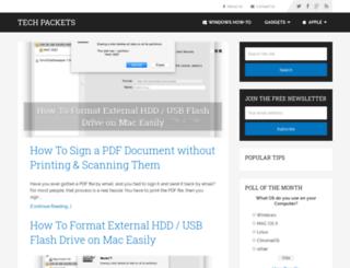 techpackets.com screenshot