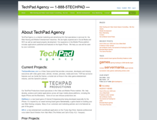 techpadagency.com screenshot