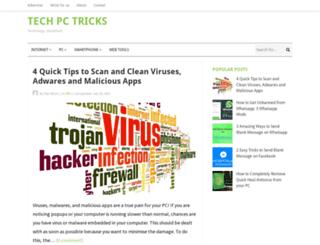 techpctricks.com screenshot