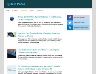 techperiod.com screenshot