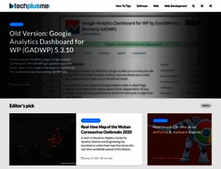 techplusme.com screenshot