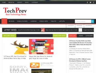techprev.com screenshot