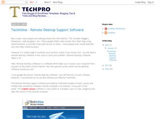 techpro123.blogspot.com screenshot