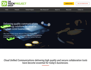techproject.com.au screenshot