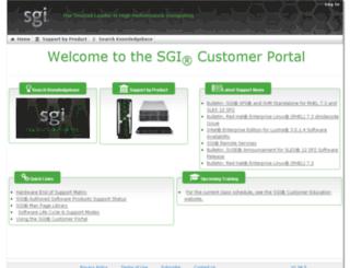 techpubs.sgi.com screenshot