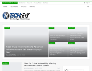 techredy.com screenshot