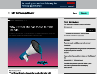 techreview.com screenshot
