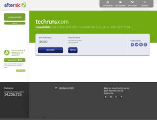 techruns.com screenshot