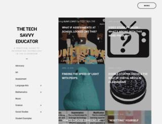 techsavvyed.net screenshot