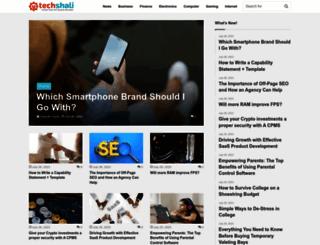 techshali.com screenshot