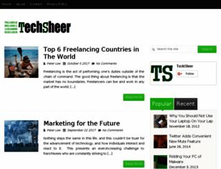 techsheer.com screenshot