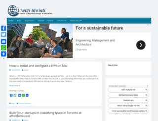 techshristi.com screenshot