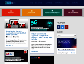 techsini.com screenshot