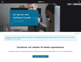 techsoup.se screenshot
