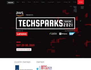 techsparks.yourstory.com screenshot