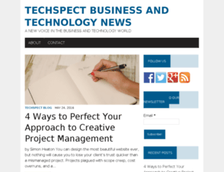 techspect.com screenshot