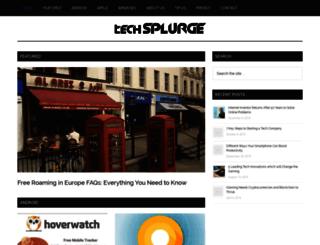 techsplurge.com screenshot