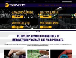 techspray.com screenshot