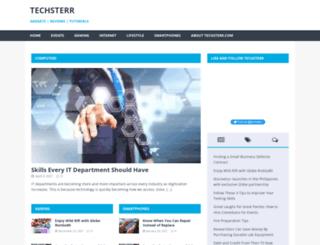 techsterr.com screenshot