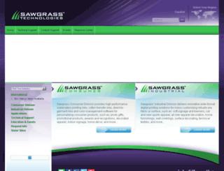 techsupport.sawgrassink.com screenshot