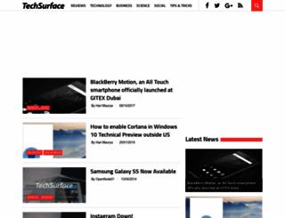 techsurface.com screenshot
