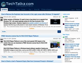 techtalkz.com screenshot