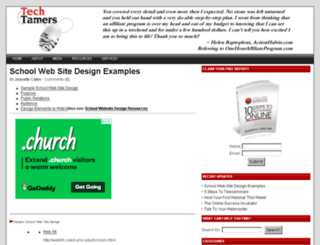 techtamers.com screenshot