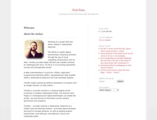 techteam.wordpress.com screenshot