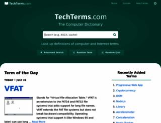 techterms.com screenshot