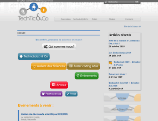 techtic-co.eu screenshot