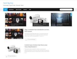 techtipguy.com screenshot