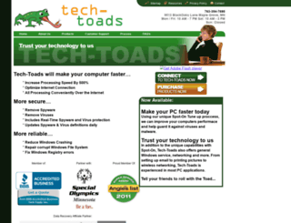techtoads.com screenshot