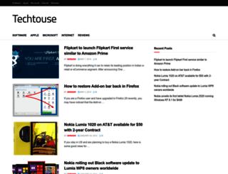 techtouse.com screenshot