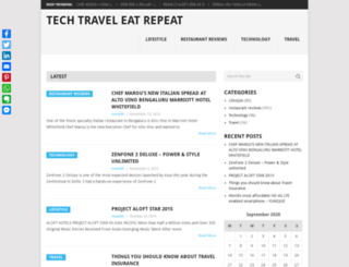 techtraveleatrepeat.com screenshot