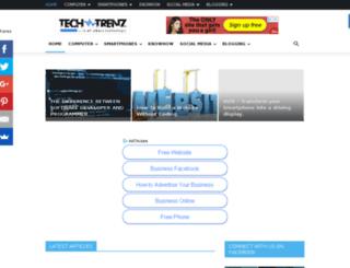 techtrenz.com screenshot