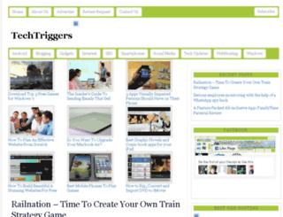 techtriggers.com screenshot
