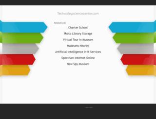 techvalleysciencecenter.com screenshot