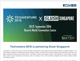 techventure.com.sg screenshot